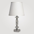 Paris Small Clear Crystal Table Lamp