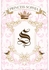 Parisian Princess Personalized Wall Hanging - Gilded Framboise