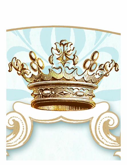 Parisian Princess Personalized Wall Hanging - Gilded Sarcelle