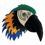 On Sale Parrot Head Faux Taxidermy