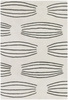 Parson Gray Lines Rug in Ivory