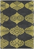 Parson Gray Ornament Rug in Gray and Lime