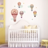 Pastel Balloons Peel & Place Wall Stickers