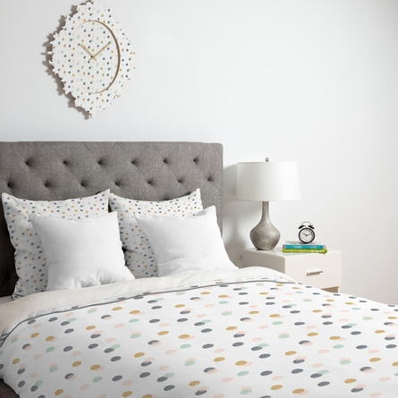 Pastel Bubbles Duvet Cover