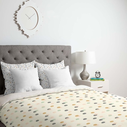 Pastel Bubbles Lightweight Duvet Cover