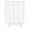 Pastel Bubbles Shower Curtain