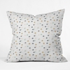 Pastel Bubbles Throw Pillow