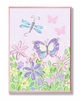 Pastel Butterfly Garden Wall Plaque