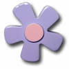 Pastel Daisy Purple Drawer Pull