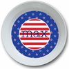 Patriotic Personalized Melamine Bowl