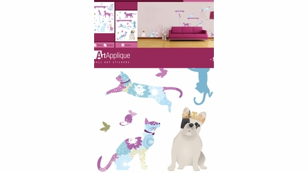 Patterned Pets Wall Decals