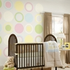 Pea Pod Green Baby Dot Wall Decals