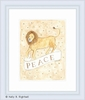 Peace Framed Lithograph