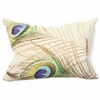 Peacock Digital Print Pillow