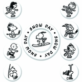Peanuts Snow Day (pnts-snow day) $(+15.00)