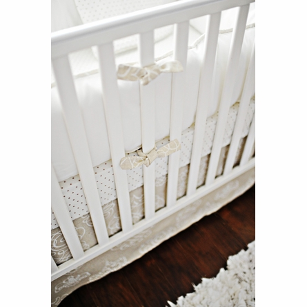 Pebble Moon Crib Bumper