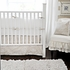 Pebble Moon Crib Skirt