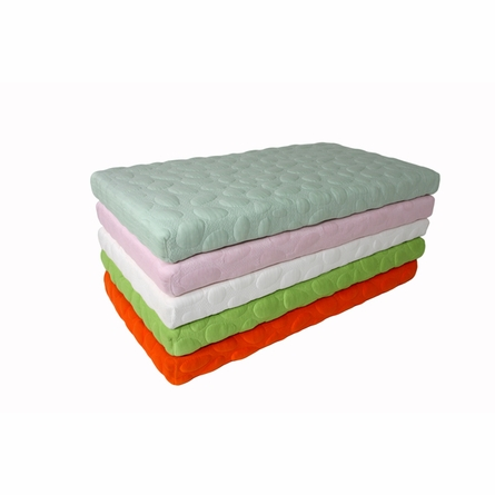 Pebble Pure Crib Mattress in Lawn