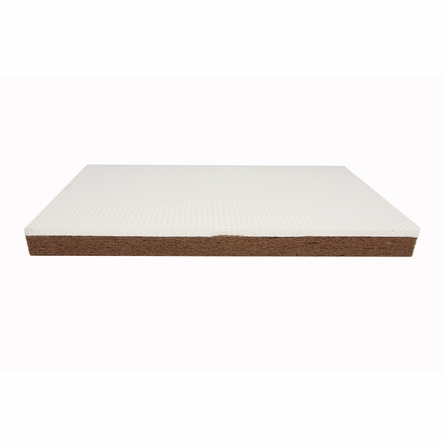 Pebble Pure Crib Mattress in Poppy
