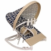 Pebbles Navy Infant Rocker