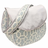 Pebbles Sky Blue Messenger Diaper Bag
