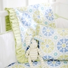 Pedal Pusher in Blue Baby Blanket