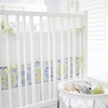 Pedal Pusher in Blue Crib Bumper