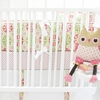 Pedal Pusher in Pink Crib Bumper