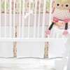 Pedal Pusher in Pink Crib Skirt