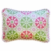 Pedal Pusher in Pink Throw Pillow
