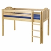 Penelope Curved Panel Low Loft Bed