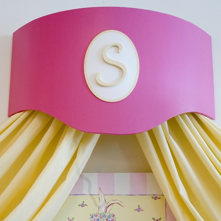 Penelope Painted Bed Crown
