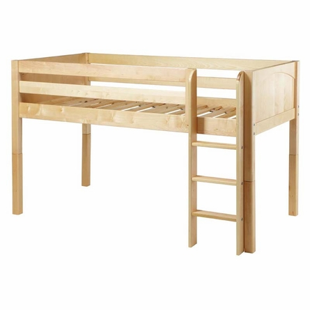 Penelope Panel Low Loft Bed