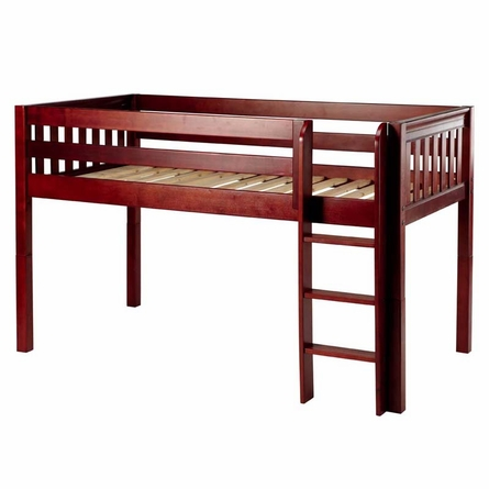 Penelope Slatted Low Loft Bed