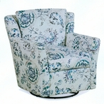 Penelope Upholstered Swivel Glider Chair