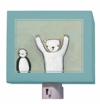 Penguin and Polar Bear Nightlight