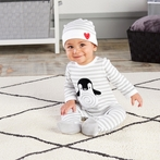 Penguin PJs 2-Piece Layette Set