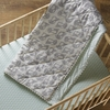 Penguin Quilted Crib Comforter