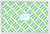Personalized Acrylic Tray - Monogram Square