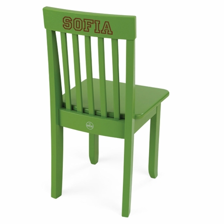 Personalized Avalon Chair in Apple