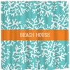 Personalized Beach House Shower Curtain