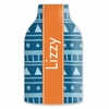 Personalized Bottle Koozie - Name Band