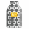 Personalized Bottle Koozie - Two Initials Square