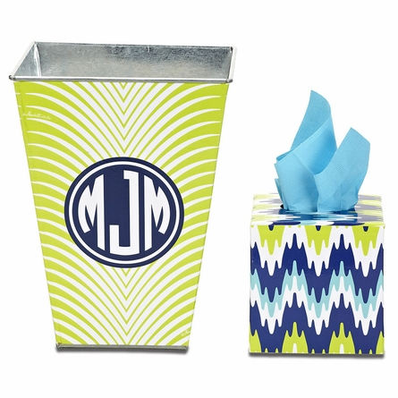 Personalized Boutique Tissue Box in Multiple Designs