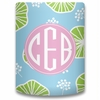 Personalized Can Koozie - Monogram Circle