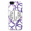 Personalized Cell Phone Case - Monogram Circle