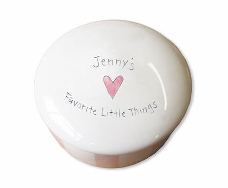 Personalized Ceramic Treasure Box