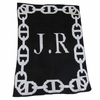 Personalized Chain Link Blanket