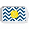 Personalized Chevron Casserole Serving Dish