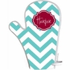 Personalized Chevron Pot Holder